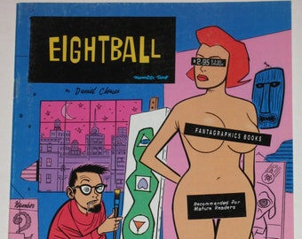 Eightball Comics No. 2-8 by Daniel Clowes