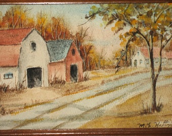 Original Watercolor Painting- small size