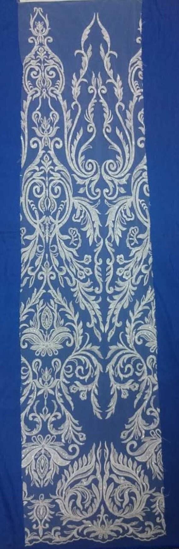 Robe GAYCHUN de mariée en perles GAYCHUN Robe broderie tissu dentelle 1a441d