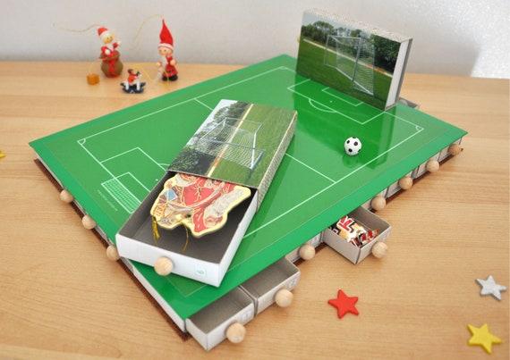 Adventskalender Fussball Fussballfeld Sport Zum Selbst Befullen