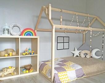 Kinderbett spielhaus  Kindermöbel | Etsy DE