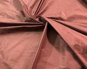 Silk taffeta 54 quot wide Beautiful pinkish purple color silk taffeta fabric sold by the yard