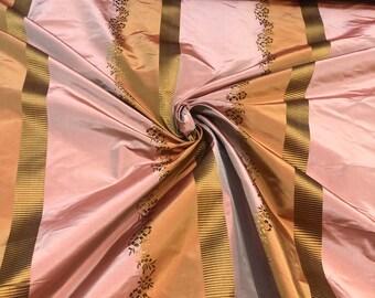 44 Width fashion 100/% Silk fabric 10m Thin Taffetas material Lining or blouse copper Yardage