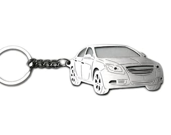 VAUXHALL ASTRA 3 dr SPORTS HATCH 2005-10 PERSONALISED KEY RING CNC ENGRAVED