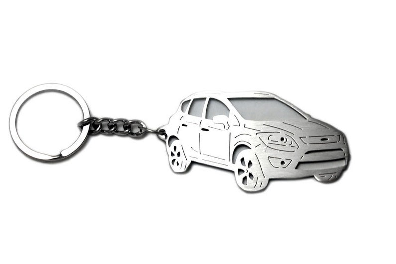 Keychain Fit Ford Kuga Stainless Steel Key Chain With Ring Etsy