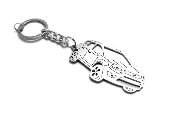 High Quality double side Car Logo Key Chain Metal Keychain Key Ring FIT Fit ford
