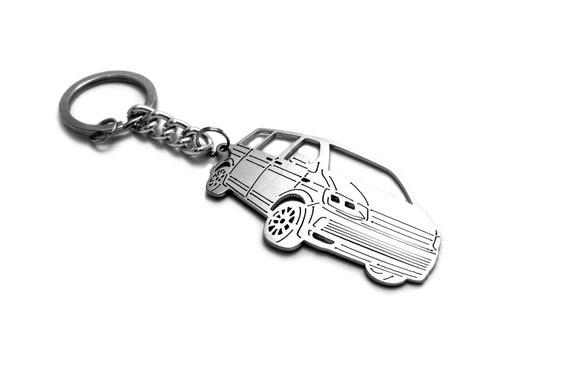 VW metallo Portachiavi Caddy Key anello Volkswagen Collezione