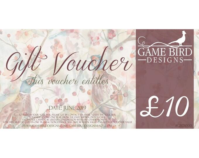 Gift Voucher (10.00GBP)