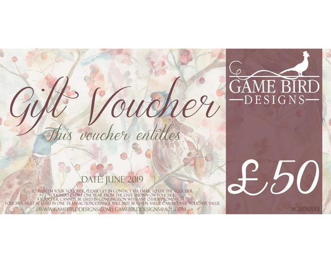 Gift Voucher (50.00GBP)