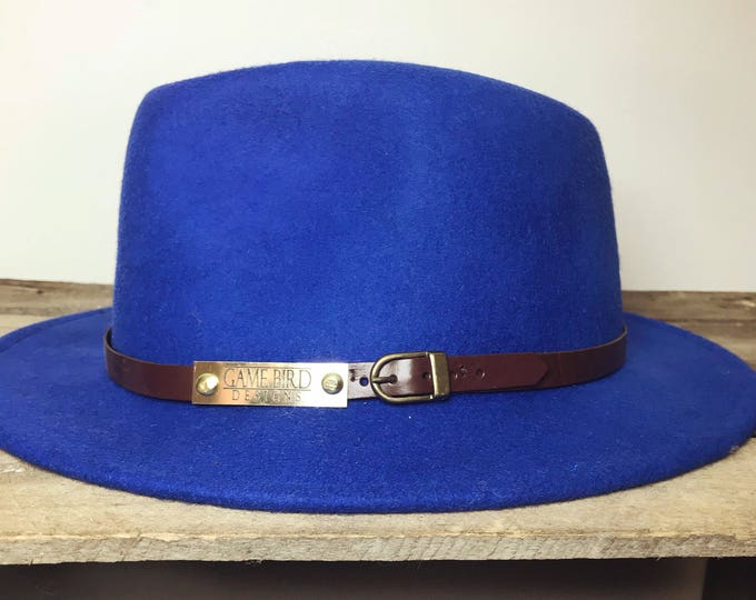 Betty Fedora Hat, L/59cm - colbolt