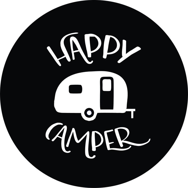 happy c er spare tire cover jeep wrangler rubicon liberty rv etsy Pop Up Camper Groups image