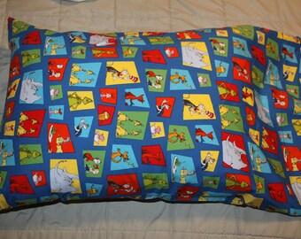 Dr. Seuss Character Pillowcase