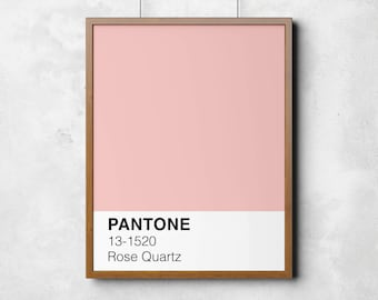 Pantone Rose Quartz Etsy