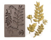 Leafy Blossoms Moulds by Prima Marketing