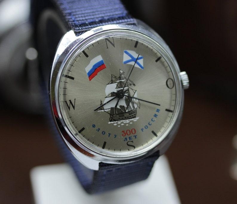 ef50aec34aa4 Vintage Watch RAKETA Rocket 2609HA Mechanical Soviet 300 years