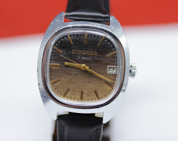 12a750df679 Vintage POLJOT Sekonda Mechanikal Data Soviet Era Men s