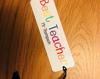 Best Teacher bookmark