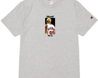 e25acb5df6c Dennis Rodman x Frank Ocean Blond Blonde Album NBA Chicago Bulls Vintage
