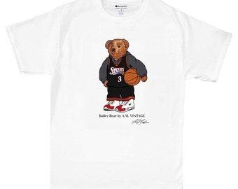 Homme Lauren Pour T Polo Vintage Vêtements Ralph Bear Teddy Sport AjS3q45RcL