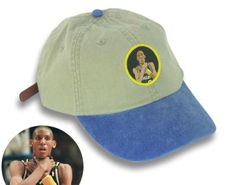 Knick Killer Reggie Miller Choke Spike Lee Indiana Pacers New York Knicks Dad  Hat Vintage Snapback NBA e6df7668f7a6