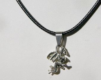 Vintage cabochon verre collier bronze Charme Chaîne Pendentifs : Wolf Moon 649