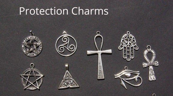 New Charm Wicca Flower Of Life Necklace Egypt Sacred Geometry Evil Eye Pendant Necklace Egyptian Jewelry Amulet Jewelry
