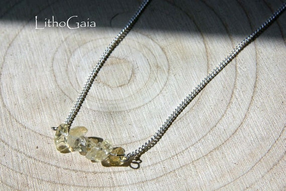 Natural Citrine Bar necklace, 925 Sterling Silver, Citrine Gemstone Bar, birthstone necklace, Citrine jewelry, Gift for Her, Scorpio Zodiac