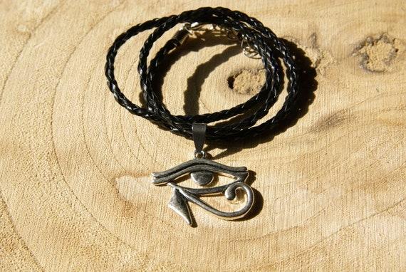 Silber Edelstahl Ägypten Auge des Horus ägyptischer Mann Ohrstecker Ohrringe