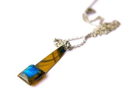 Labradorite Pendant ∞ Aura Cleansing, Protection, Good Luck Gift, Pisces Zodiac, Solar Plexus Chakra ∞ Spiritual Healing Gemstones Jewelry