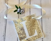 Silver Glitter Hen Party L Plate, Hen party favours, Bride to be L Plate, Hen party gift, Bride to be gift