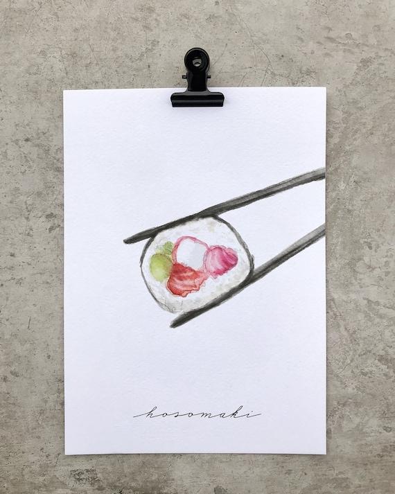 Hosomaki, Sushi Collection