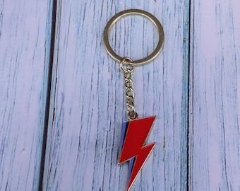 Lightning bolt - keyring