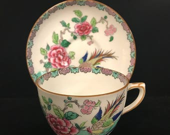 Vintage Crown Staffordshire Tea Cup