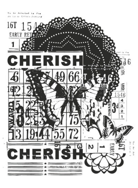 Acrylic 10 Clear Stamps stamping Stamp Kaisercraft /'Little One/' 155 x 105 mm rubber stamp