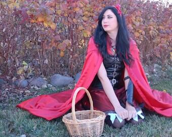 Red Riding Hood Cloak