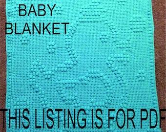 Rubber Ducky Baby Blanket Pattern