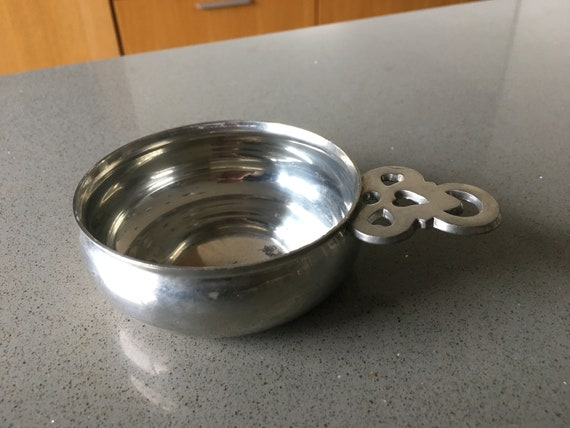 Colonial Williamsburg Pewter Child S Porringer By Stieff Etsy
