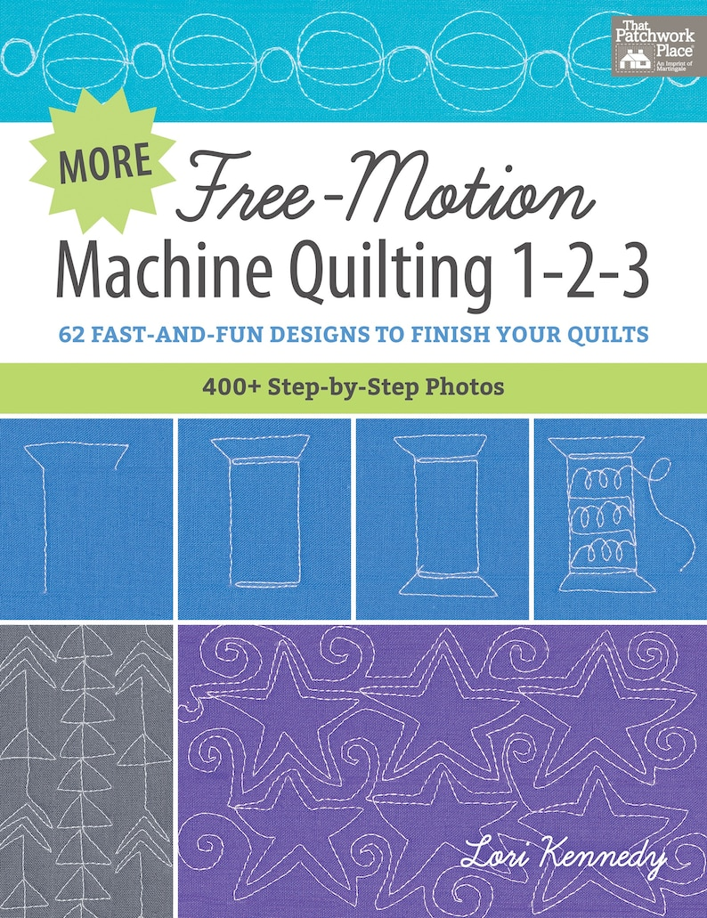 More Free-Motion Machine Quilting 1-2-3 image 0