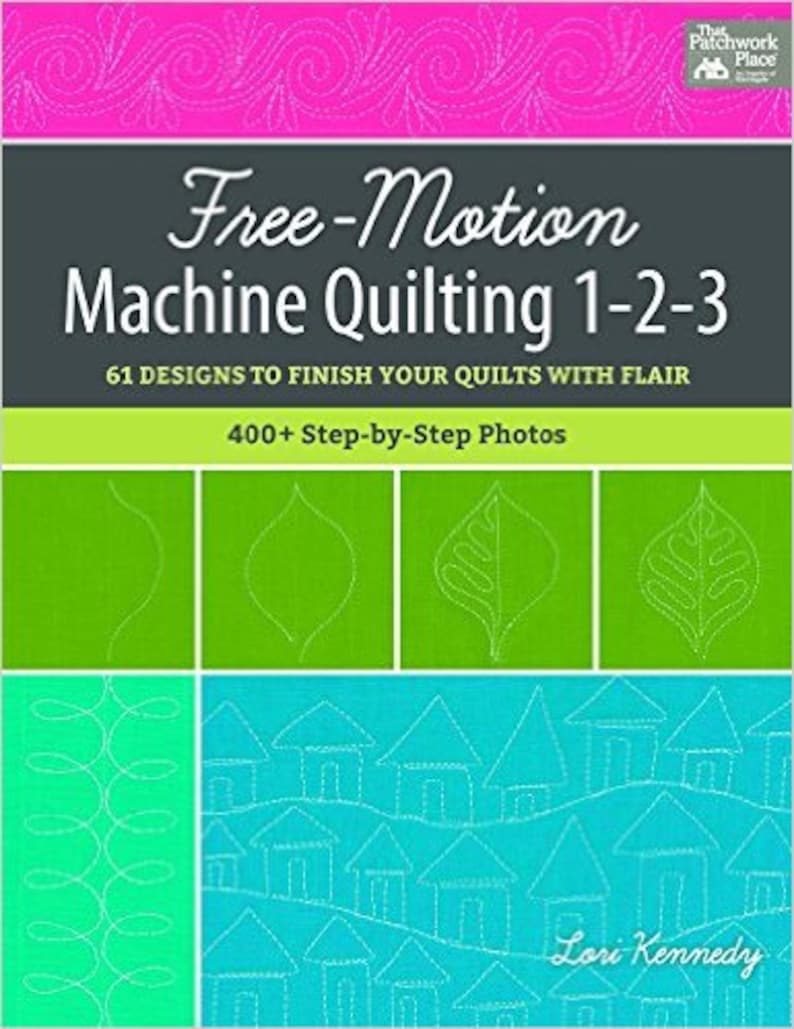 Free-Motion Machine Quilting 1-2-3 image 0
