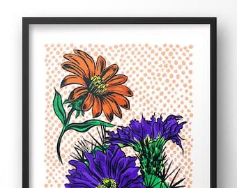 Flora Botanica Print