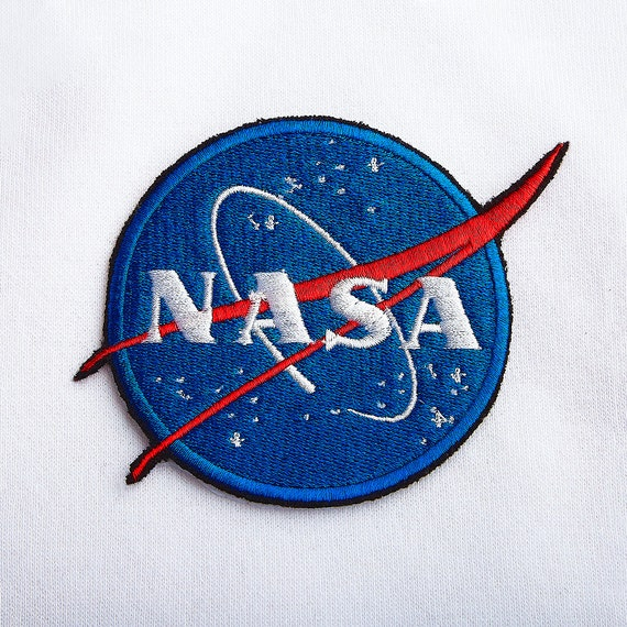 NASA Logo Patch for Jacket NASA Patch Embroidery Patch Iron On | Etsy
