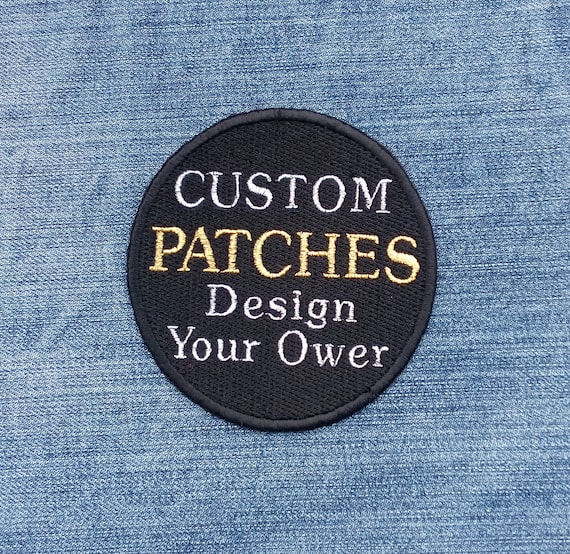Custom Patch Designs Your Own Logo Badge Prefer Brand Products Favorite  Band Symbols Embroidered Jean Iron on Sew Emblem Patch Jacket ED9000