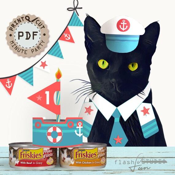 Sailor Birthday Party Nautical Decor Printable