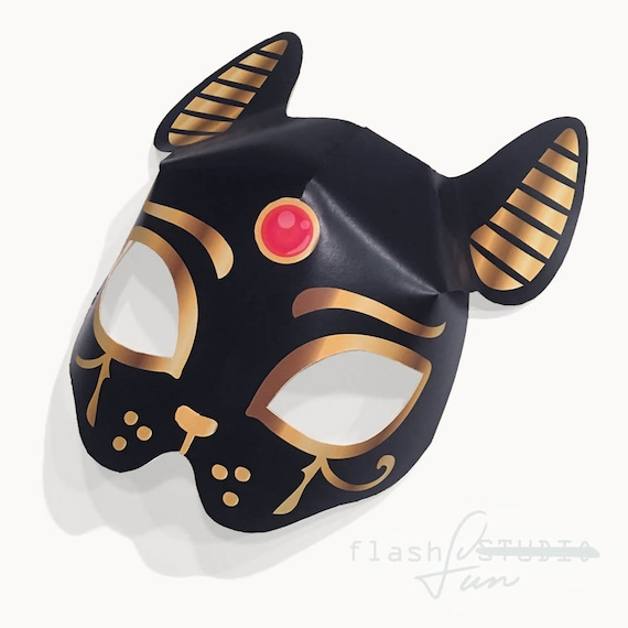 Cat Mask Template Barca Selphee Co