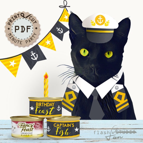 Sailor Birthday Party Nautical Decor Printable