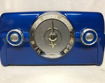1950 Crosley 10-135 Vintage Dashboard Tube Radio With Bluetooth Input