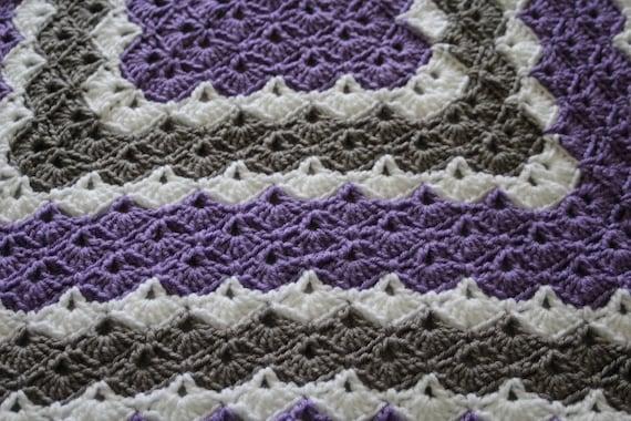 Crochet Baby Blanket 60 Shell Pattern Baby Blanket In Etsy Awesome Crochet Baby Blanket Shell Pattern