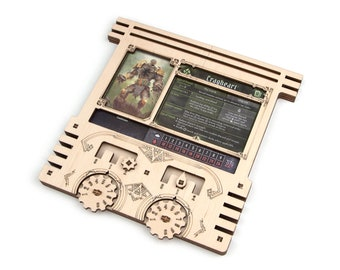 Gloomstalker's Character Dashboard   Gloomhaven Player Board   Gloomhaven Accessories   Token / Character Organization for Gloomhaven