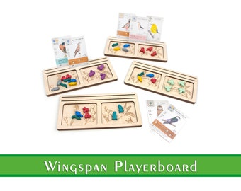 Wingspan Player Dashboard   Wingspan Playerboard   Wingspan Accessories and Upgrades   Organization for Wingspan Boardgame