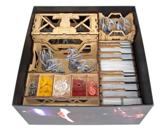 Alien Survivor's Organizer for the Base Game   Compatible with Nemesis Tabletop HDF Insert   Alien Storage Solution   Unofficial Product